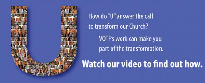 How can you be part of Church transformation?